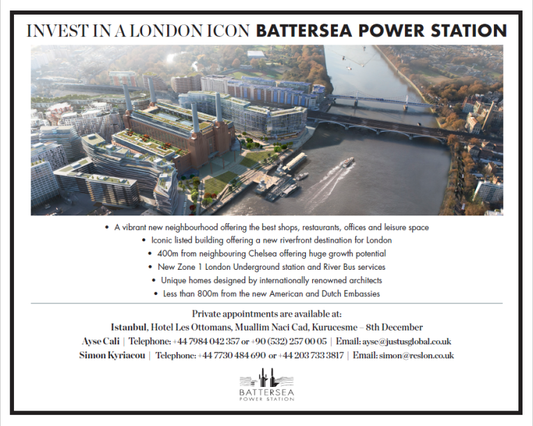 Invest in property around battersea power station